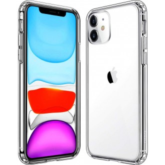 "Skaidrus silikoninis dėklas Apple iPhone 11 telefonui ""Clear 1.0mm"""