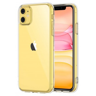 "Skaidrus silikoninis dėklas Apple iPhone 11 telefonui ""Mercury Goospery Jelly Clear"""