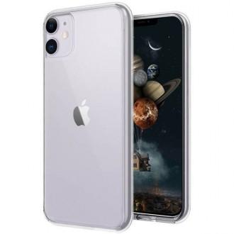 """Skaidrus silikoninis dėklas Apple iPhone 12 mini telefonui """"Clear 1.0mm"""""""