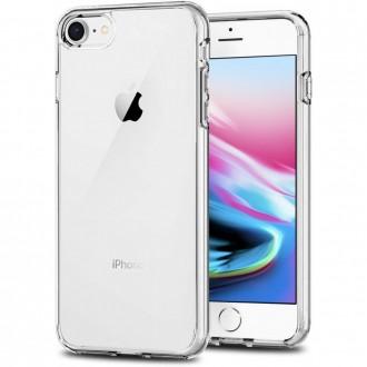 """Skaidrus silikoninis dėklas Apple iPhone 12 / 12 Pro telefonui """"Clear 1.0mm"""""""
