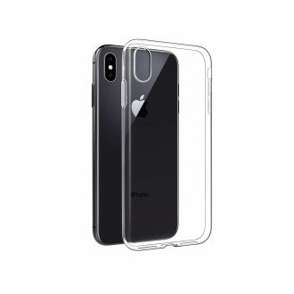 "Skaidrus silikoninis dėklas Apple iPhone X / XS telefonui ""Clear"""