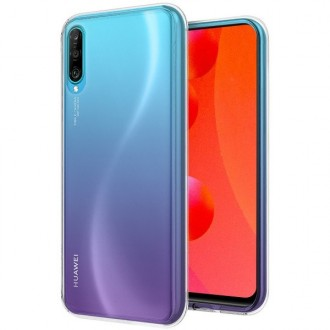 """Skaidrus silikoninis dėklas Huawei P Smart Pro 2019 / Honor Y9s telefonui """"Clear"""""""