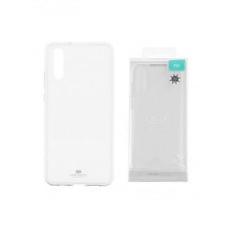 """Skaidrus silikoninis dėklas Huawei P20 telefonui """"Mercury Jelly Case"""""""