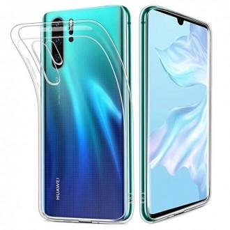 """Skaidrus silikoninis dėklas Huawei P30 Lite telefonui """"Clear 1.0mm"""""""