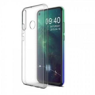 """Skaidrus silikoninis dėklas Huawei P40 Lite E / Y7 P telefonui """"Clear 0.5mm"""""""