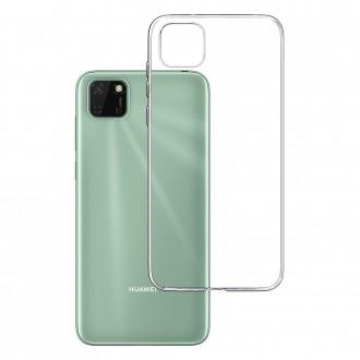 """Skaidrus silikoninis dėklas Huawei Y5P telefonui """"3MK"""" 1,2mm"""