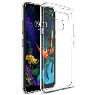 "Skaidrus silikoninis dėklas LG K50S telefonui ""Clear 0.5mm"""
