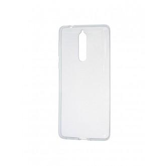 """Skaidrus silikoninis dėklas Nokia 8 telefonui """"Clear"""""""
