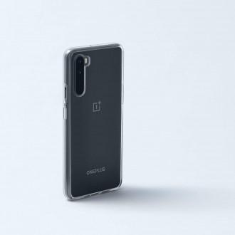 """Skaidrus silikoninis dėklas OnePlus Nord telefonui """"Clear 1.0mm"""""""