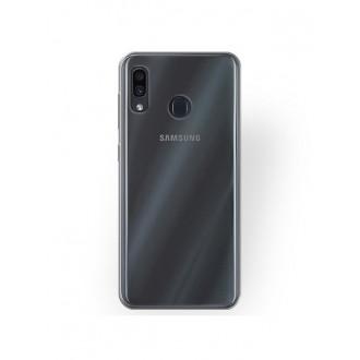 "Skaidrus silikoninis dėklas Samsung Galaxy A205 A20 / A305 A30 telefonui ""Clear 1.0mm"""