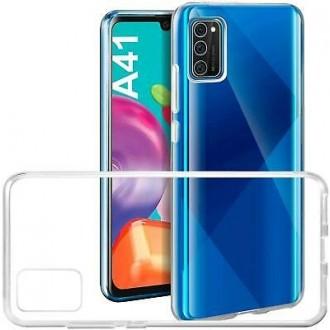 """Skaidrus silikoninis dėklas Samsung Galaxy A41 telefonui """"Mercury Goospery Jelly Clear"""""""