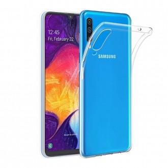 "Skaidrus silikoninis dėklas Samsung Galaxy A505 A50 / A507 A50s / A307 A30s telefonui ""Clear 1.0mm"""