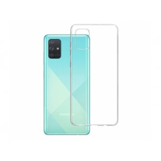 "Skaidrus silikoninis dėklas Samsung Galaxy A715 A71 telefonui ""3MK"" 1,2mm"