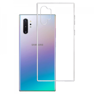 "Skaidrus silikoninis dėklas Samsung Galaxy N975 Note 10 Plus telefonui ""3MK"" 1,2mm"