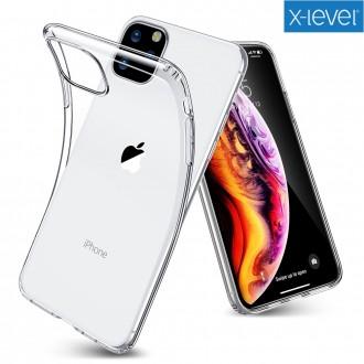 """Skaidrus silikoninis dėklas X-Level ''Antislip"""" telefonui Samsung Galaxy G965 S9 Plus"""
