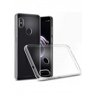 """Skaidrus silikoninis dėklas Xiaomi Redmi Note 5 Pro telefonui """"Clear 1.0mm"""""""