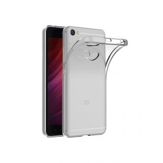 "Skaidrus silikoninis dėklas Xiaomi Redmi Note 5A telefonui ""Clear 1.0mm"""