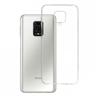 """Skaidrus silikoninis dėklas Xiaomi Redmi Note 9S telefonui """"3MK"""" 1,2mm"""