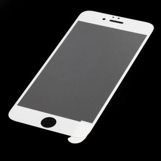 Baltas apsauginis grūdintas stiklas (0.2mm 9H) Apple iPhone 6/6s telefonui