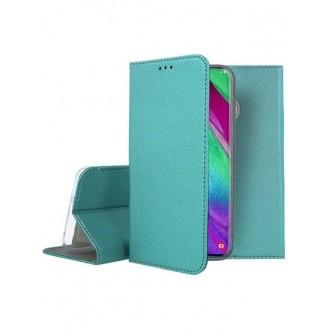 """Smaragdinės spalvos atverčiamas dėklas Samsung Galaxy A405 A40 telefonui """"Smart Magnet"""""""