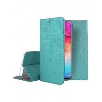 """Smaragdinės spalvos atverčiamas dėklas Samsung Galaxy A505 A50 / A507 A50s / A307 A30s telefonui """"Smart Magnet"""""""