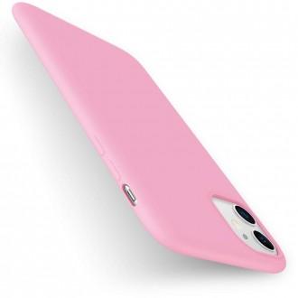 Šviesiai rožinės spalvos dėklas X-Level Dynamic Apple iPhone 11 telefonui
