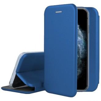 """Tamsiai mėlynas atverčiamas dėklas Apple iPhone 11 Pro telefonui """"Book Elegance"""""""