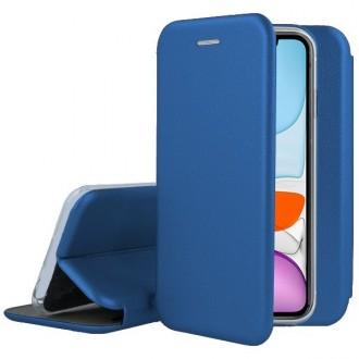 """Tamsiai mėlynas atverčiamas dėklas Apple iPhone 11 telefonui """"Book Elegance"""""""