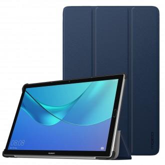 """Tamsiai mėlynas atverčiamas dėklas Huawei MediaPad M5 10.8''    """"Smart Leather"""""""