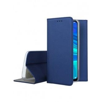 """Tamsiai mėlynas atverčiamas dėklas Huawei P Smart 2019 / Honor 10 Lite telefonui """"Smart Magnet"""""""
