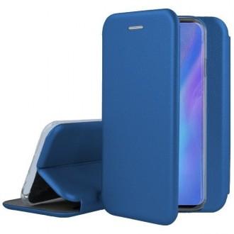"""Tamsiai mėlynas atverčiamas dėklas Huawei P30 Pro telefonui """"Book Elegance"""""""