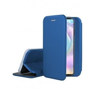 """Tamsiai mėlynas atverčiamas dėklas Huawei P30 telefonui """"Book Elegance"""""""