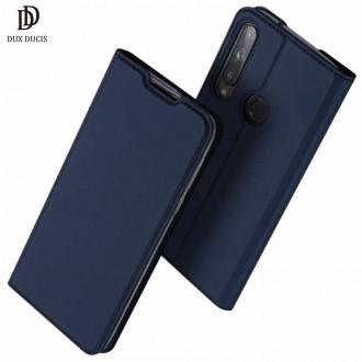 """Tamsiai mėlynas atverčiamas dėklas Huawei P40 Lite E / Y7 P telefonui """"Dux Ducis Skin Pro"""""""