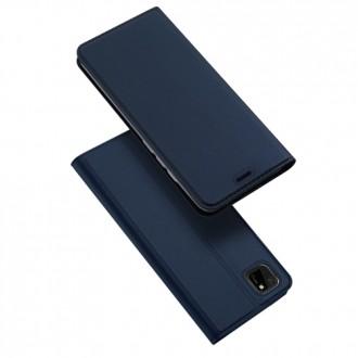 """Tamsiai mėlynas atverčiamas dėklas Huawei Y5P / Honor 9S telefonui """"Dux Ducis Skin"""""""