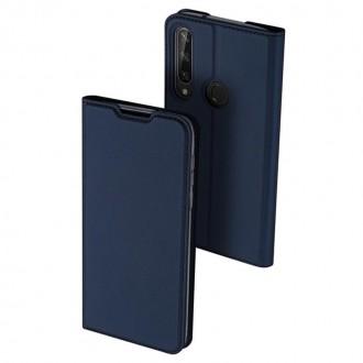 """Tamsiai mėlynas atverčiamas dėklas Huawei Y6P telefonui """"Dux Ducis Skin"""""""