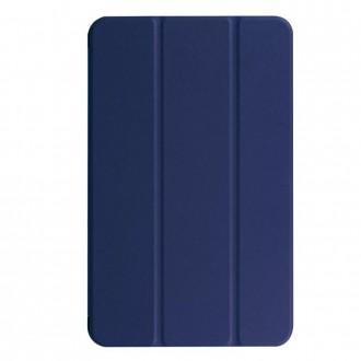 """Tamsiai mėlynas atverčiamas dėklas Lenovo Tab M10 X505 / X605 """"Smart Leather"""""""