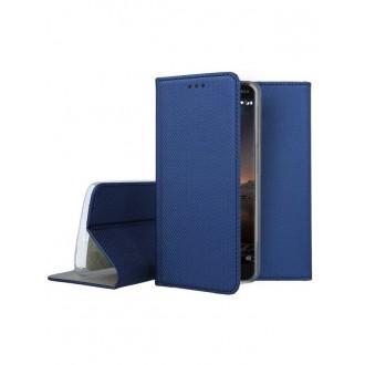 """Tamsiai mėlynas atverčiamas dėklas Nokia 6.1 / 6 2018 telefonui """"Smart Magnet"""""""