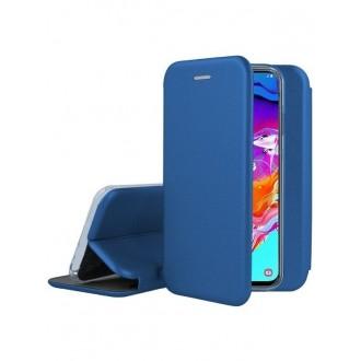 """Tamsiai mėlynas atverčiamas dėklas Samsung Galaxy A705 A70 telefonui """"Book Elegance"""""""