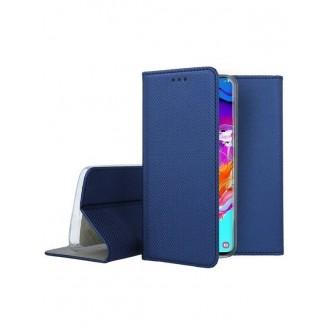 """Tamsiai mėlynas atverčiamas dėklas Samsung Galaxy A705 A70 telefonui """"Smart Magnet"""""""