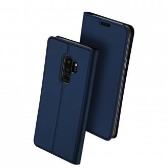 """Tamsiai mėlynas atverčiamas dėklas Samsung Galaxy G965 S9 Plus telefonui """"Dux Ducis Skin"""""""