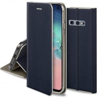 """Tamsiai mėlynas atverčiamas dėklas Samsung Galaxy G970 S10e telefonui """"Smart Venus"""""""