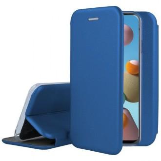 """Tamsiai mėlynas atverčiamas dėklas Samsung Galay A217 A21s telefonui """"Book Elegance"""""""