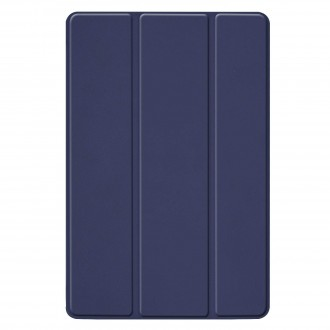 """Tamsiai mėlynas atverčiamas dėklas Samsung T720 / T725 Tab S5e """"Smart Leather"""""""