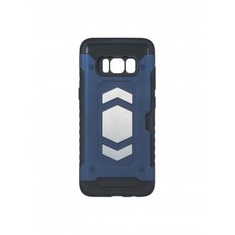 "Tamsiai mėlynas dėklas Samsung Galaxy A750 A7 2018 telefonui ""Defender Magnetic"""