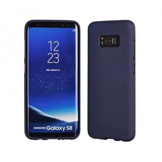 """Tamsiai mėlynas ilikoninis dėklas Samsung Galaxy G950 S8 telefonui Mercury Goospery """"Soft Jelly Case"""""""