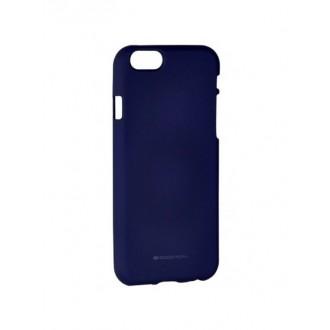 "Tamsiai mėlynas silikoninis dėklas Apple iPhone 6 / 6s telefonui ""Mercury Soft Feeling"""
