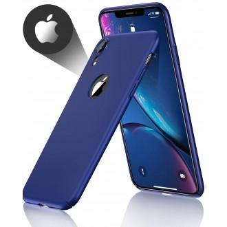 """Tamsiai mėlynas silikoninis dėklas Apple iPhone XR telefonui """"Spigen TPU Case"""""""