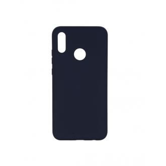 """Tamsiai mėlynas silikoninis dėklas Huawei P Smart 2019 telefonui """"Mercury Soft Feeling"""""""