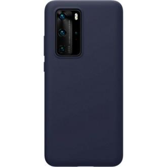 """Tamsiai mėlynas silikoninis dėklas Huawei P40 telefonui """"Mercury Soft Feeling"""""""