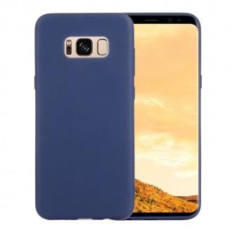 """Tamsiai mėlynas silikoninis dėklas Samsung Galaxy G950 S8 telefonui """"Spigen TPU Case"""""""